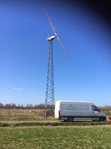 Gaia 133 servcing with Walton Wind